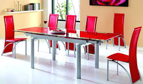 Red dining table set Black Red Dining Room Sets Black And Red Dining Set Stupefy Inspiring Table Sets Glass For Lift Red Dining Room Sets 3ddruckerkaufeninfo Red Dining Room Sets Red Dining Room Villa Faux Leather Red Dining