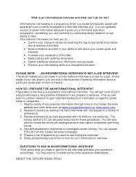 Informational Interview Request Email Informational Interview Request Template