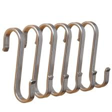 metal hooks for hanging. flat s hooks hanging rail pot pan hanger utensil garage clothes (112mm) metal for