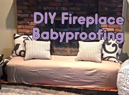 Baby Proofing Fireplace Padding The Fireplace Is One Of The Most Baby Proof Fireplace