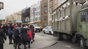 Sirens of the Lambs': Banksy fills slaughterhouse truck with toys - Los  Angeles Times
