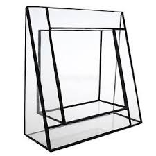 Angled Display Stand High Quality Chic Glass Succulent Planter BoxAngled Terrarium 71