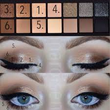 smashbox full exposure palette step by step eyeshadow tutorial