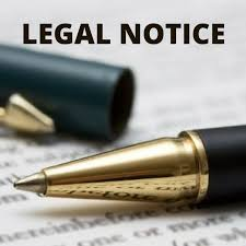 Format For Legal Notice | Aapka Consultant