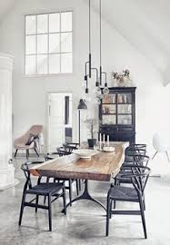 a stunning danish home with heigh ceilings style files natural wood dining tablescandinavian dining chairsscandinavian dining tableindustrial