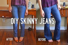 sally ann diy skinny jeans image heavy easy tutorial never get rid of flare