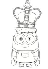 King Bob Coloring Page Design Templates