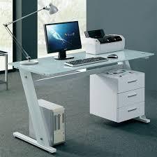 elegant small glass top computer desk unique computer desks for a stylist office best garden small