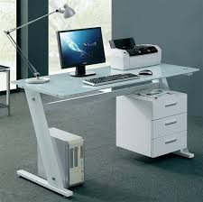 elegant small glass top computer desk unique computer desks for a stylist office best garden small