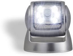 Draadloze Led Buitenlamp Met Bewegingssensor Werkt Op Batterijen 360 Draaibaar
