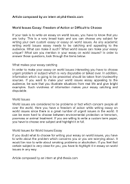 essay topics on social issues essay topics on social issues world for essays cover letter