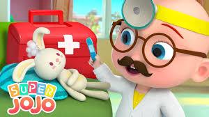 Em bé JoJo chăm sóc bạn thỏ | JoJo làm bác sĩ | Nhạc thiếu nhi vui nhộn