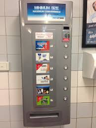 Restroom Vending Machines Stunning Condoms At Australian Airports WTF One Mile At A Time