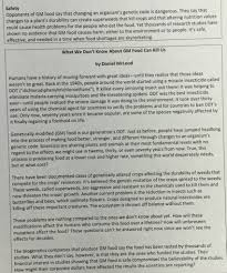 gmo essay weather producer cover letter narrative essay structure ms b smith atilde130 if you think reading is boring you re doing it gmo text 2 1ehld6n 851x1024 41 gmo essay gmo essay