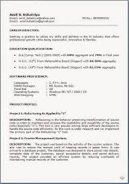Sql Experience Resume Sample Best of It Resume Samples Download Free Excellent CV Resume Curriculum