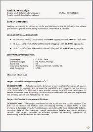 Curriculum Vitae Resume Stunning It Resume Samples Download Free Excellent CV Resume Curriculum