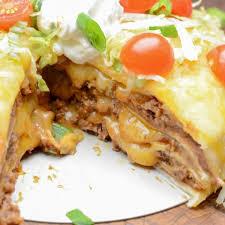ninja foodi or air fryer taco pie