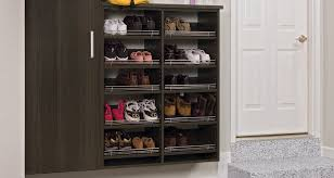 Staggering Entry Bench With Shoe Storage in Entryway Shoe Storage