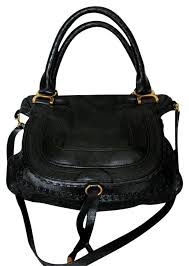 chloe marcie. chloé chloe marcie small satchel in black