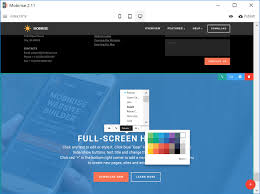 simple offline web page builder software quick html web page creator
