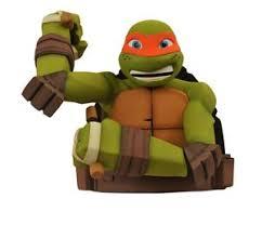 ninja turtles michelangelo. Interesting Ninja Picture Of Teenage Mutant Ninja Turtles Michelangelo Bust Bank With N