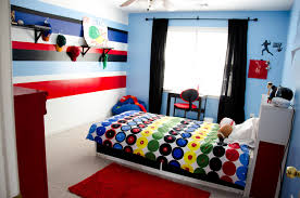 red wall paint black bed: amusing hodgepodge accent wall color bedroom red walls black
