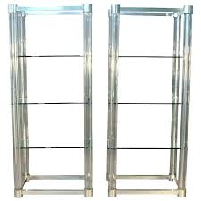 etagere bathroom glass glass shelves glass shelves iron and glass shelves gold glass chrome glass bathroom