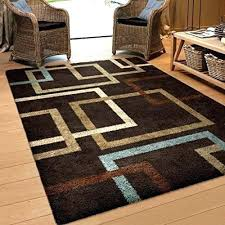blue and brown area rug blue green brown area rugs rugs geometric linked in mocha blue blue and brown area rug