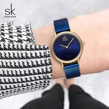 <b>Shengke Wrist Watch Women</b> Fashion Steel Quartz Watches ...