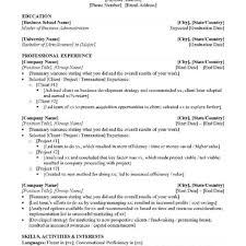 Mba Application Resume Sample fair resume for mba application objective in resume for mba 67