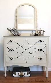 diy painting furniture ideas. country to chic nailhead vanity makeover dresser makeoversfurniture makeoverfurniture projectsdiy furniturepainted diy painting furniture ideas