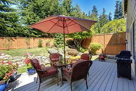 Backyard Deck Design Simple Inspiration Design