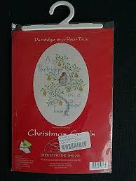 Derwentwater Designs Penrith Derwentwater Designs Cross Stitch Kit Christmas Card Partridge In A Pear Tree