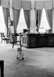 john f kennedy oval office. John F. Kennedy, Jr., Visits Oval Office F Kennedy
