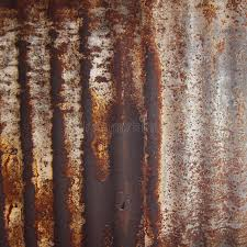 rusted corrugated metal fence. Brilliant Corrugated Download Rusty Corrugated Iron Metal Fence Zinc Wall Stock Image  Of  Grey Fence Throughout Rusted