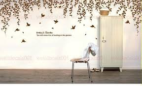 wall decal art wall decal wall sticker room decor kids wall decal nature tree decal birds wall decal art  on artistic wall decal with wall decal art butterfly flight wall decals wall art decals quotes