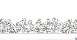 Small Picture Last Supper Coloring Sunday School Ideas Pinterest Gekimoe 55612