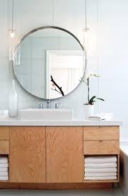 round bathroom mirrors round bathroom mirror on minimal