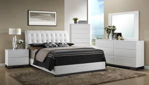 Avery White Modern Bedroom Set