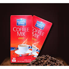 Maxwell house distinctive tasting instant white coffee. Maxwell House Coffee Mix Original 20 Sticks 236g Shopee Philippines
