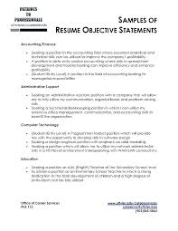 Objective Statements For Resumes objective statement resume cliffordsphotography 22