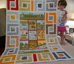 Panel Quilt Patterns Enchanting 48 Little Things A FINISH Seams Crazy