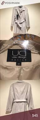 Utex Design Utex Design Trench Coat Pea Coat Petite Size M Please