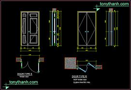 timber door and mdf wooden door autocad drawing sample free
