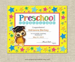 30 Preschool Diploma Template Free Pryncepality