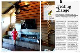 Interior Design Magazine Articles Lux Magazine Feature Media Publicity Changes Interior