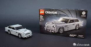 Top Secret Lego 10262 James Bond Aston Martin Db5 Review The Brothers Brick The Brothers Brick