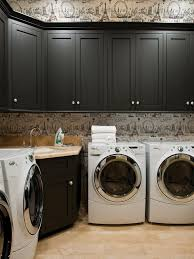 Washer And Dryer In Kitchen Kitchen Room Wythe Blue Laundry Room Modern New 2017 Office