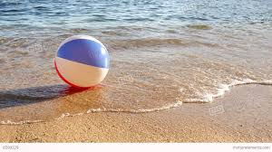 beach ball in sand. Contemporary Beach Beach Ball At The Mercy Of Waves Stock Video Footage With In Sand F