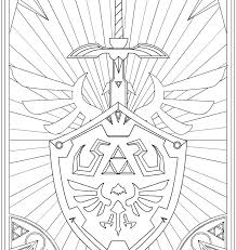 Zelda Coloring Pages The Legend Of Coloring Pages Coloring Pages